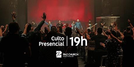 Culto de Celebração 19h | Domingo, 17 de Janeiro | Paz São Paulo ingressos