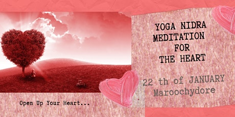 YOGA NIDRA GUIDED MEDITATION FOR THE HEART tickets