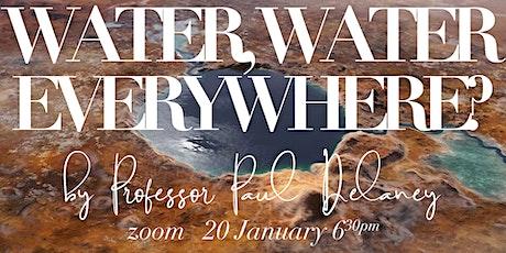 Star Talk: Water, Water Everywhere? tickets
