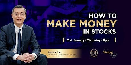 [FREE Webinar] How to Make Money in Stocks tickets