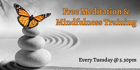 Copy of Free Meditation and Mindfulness Training tickets