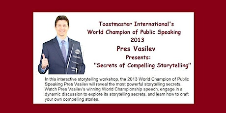 D16 Training - Secrets of Compelling Storytelling tickets