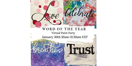 WORD OF THE YEAR PAINT PARTY tickets