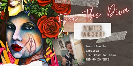 Free The Diva 3 Day Painting Immersion 30/4-2/5/21 tickets