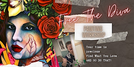 Free The Diva 3 Day Painting Immersion 25th-27th June 21 tickets