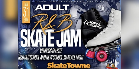 ADULT R&B SKATE JAM tickets