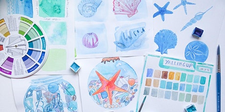 Beach Combers' Adult Watercolour Workshop tickets
