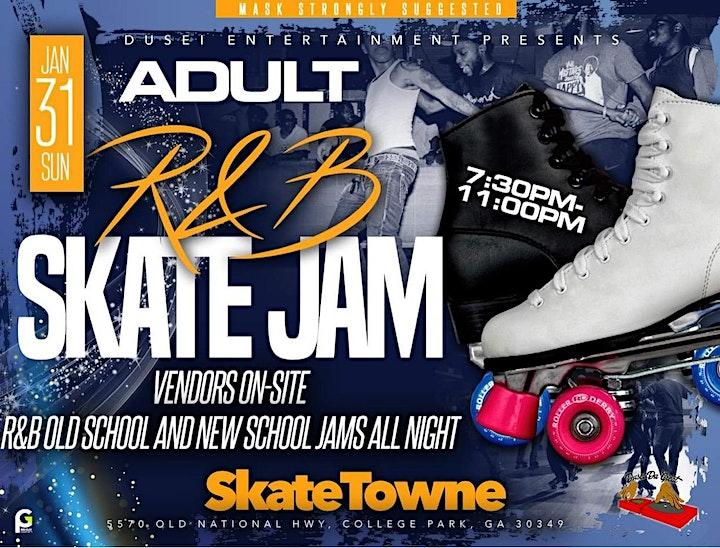 ADULT R&B SKATE JAM image
