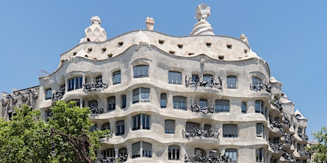 Gaudí and Modernist architecture in Barcelona. Live streaming tour. tickets