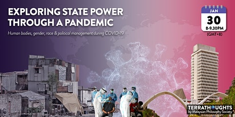 COVID-19: Exploring State Power Through A Pandemic tickets