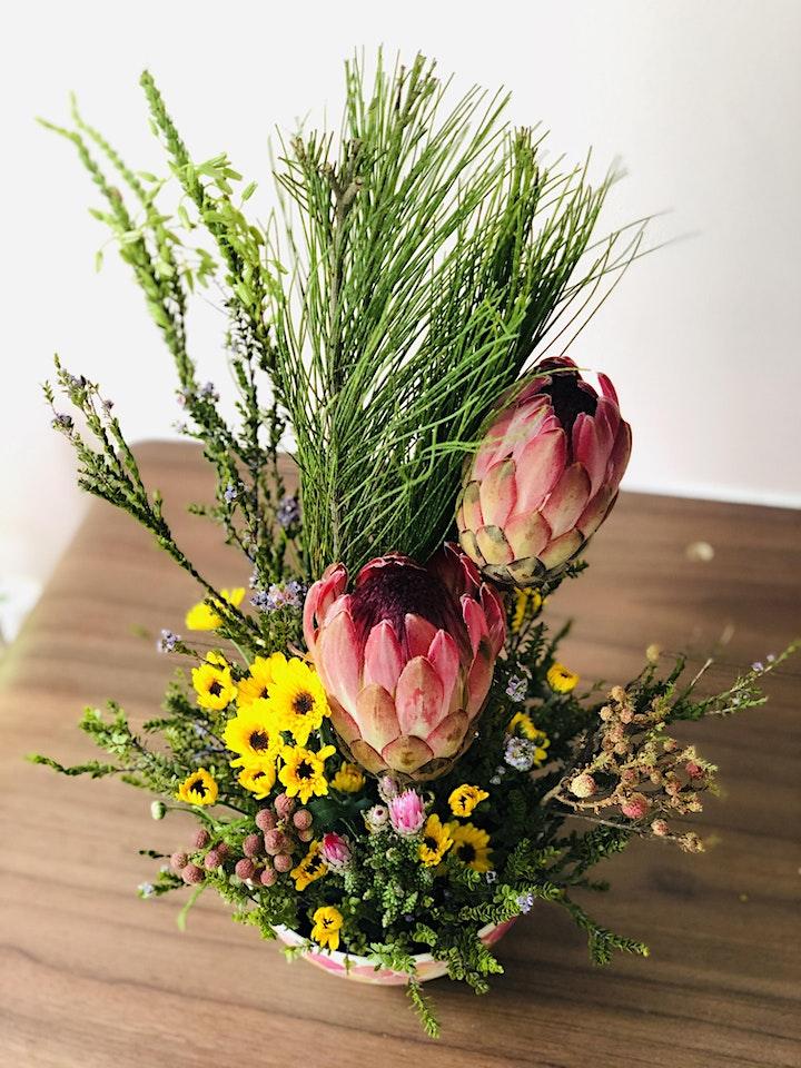 Soul Art: New Year Blessing Floral Arrangement Workshop image
