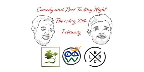 Comedy and Drink Tasting at Rocquettes with The Little Big Brewery tickets