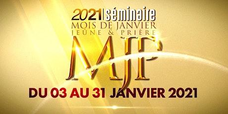 Séminaire MJP (du  15 au 17 janvier 2021) billets