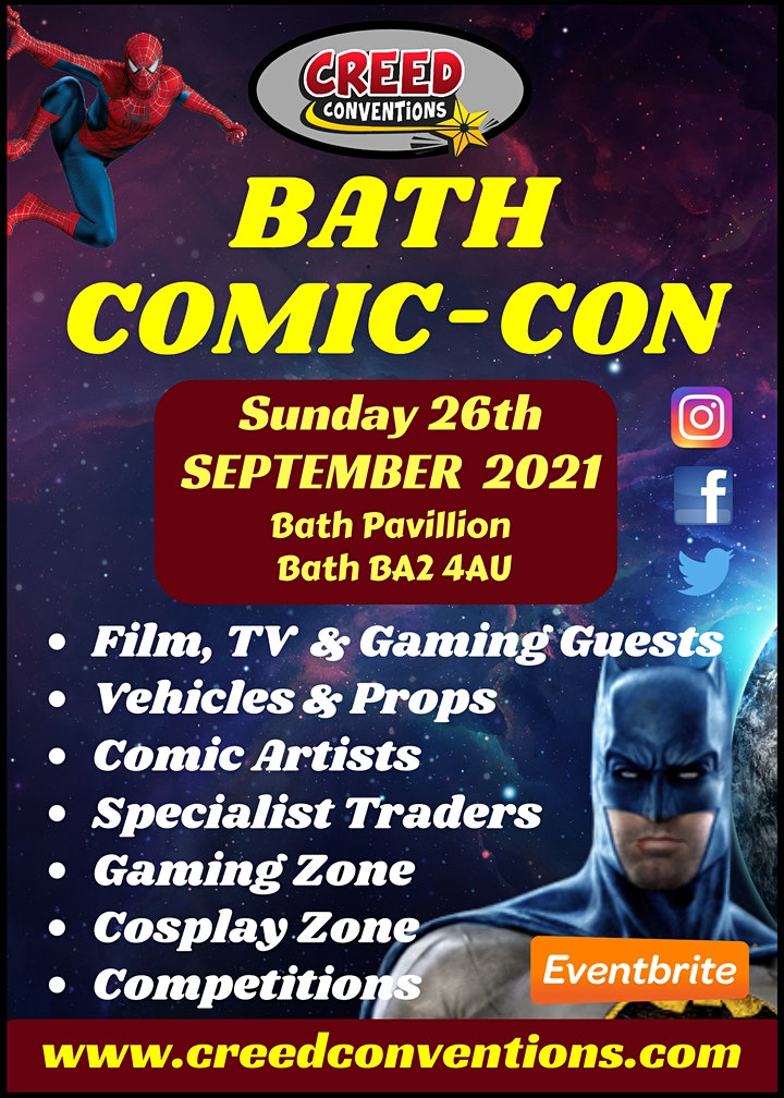 Bath Comic-Con 2021 image