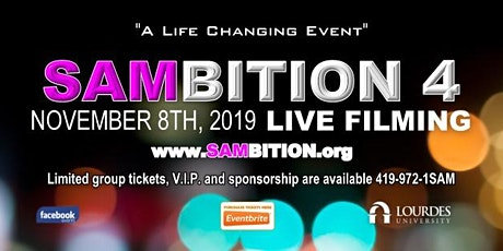 "SAMBITION 4 "" Living your Max life"" 2022 Filmed Live tickets"