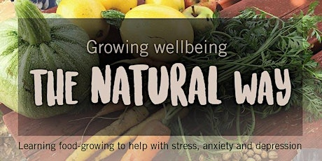 *STARTS ONLINE* Growing Wellbeing - FREE 6 session FOOD-GROWING course tickets