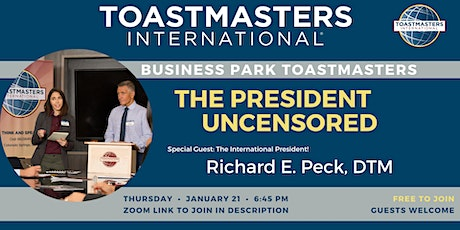 Business Park Toastmasters - The fun way to Practice Speaking tickets