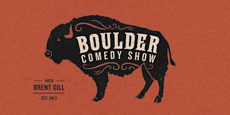 Boulder Comedy Show ft. David Gborie 5p tickets