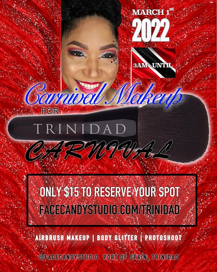 Carnival Makeup for Trinidad Carnival 2022 image