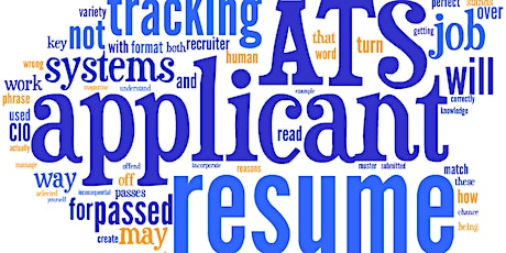 Resumes &  Applicant Tracking Systems tickets