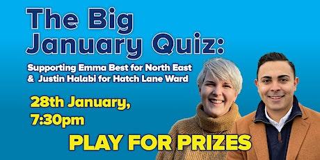 The Big January Quiz tickets