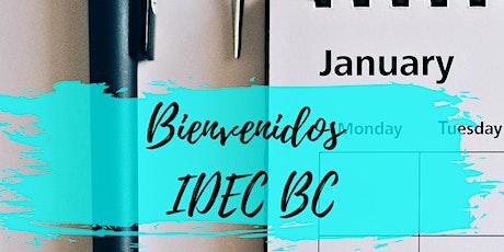 Segundo Servicio Domingo 17 de enero 9:00 a 10:00 A.M entradas