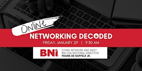 BNI Networking Decoded Multi-Regional Event tickets