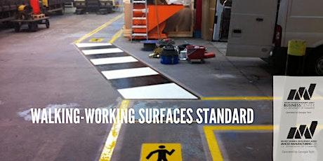 Walking-Working Surfaces Standard tickets