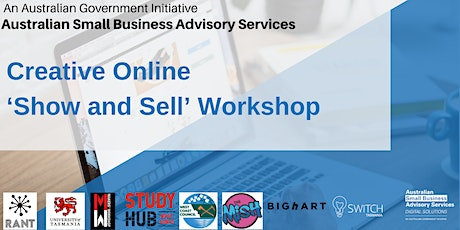 "Creative Online ""Show & Sell"" Workshop tickets"