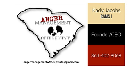 Anger Management Classes tickets