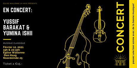 En Concert: Yussif Barakat & Yumina Ishii tickets