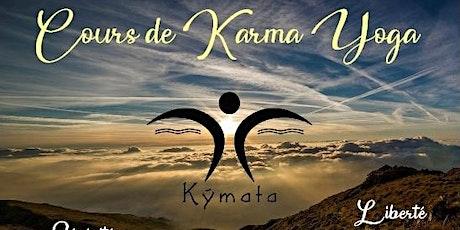 Cours de Karma Yoga en ligne - art martial de l'Esprit billets