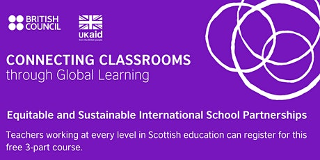 Equitable and Sustainable International School Partnerships (Online) tickets