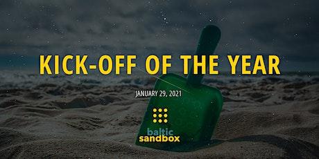 Baltic Sandbox Kick-off of the Year biglietti
