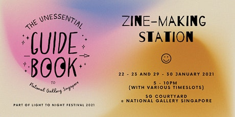 The Unessential Zine-making Station tickets