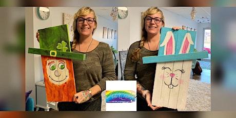 Leprechaun/Bunny: Glen Burnie, Sidelines with Artist Katie Detrich! tickets