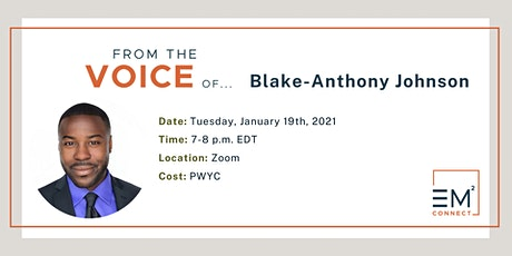 From the Voice of Blake-Anthony Johnson: Equity + Action Talk Series tickets