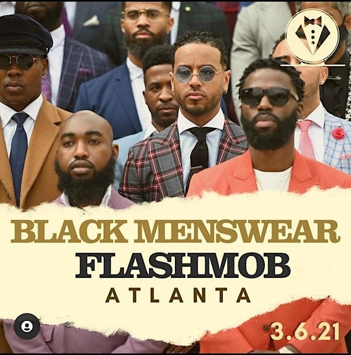 Black Menswear FlashMob Atlanta image