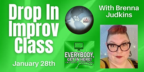 Drop In Improv Class with Brenna Judkins tickets