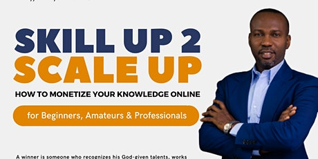 SKILL UP 2 SCALE UP tickets