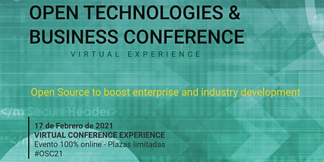 OPEN TECHNOLOGIES & BUSINESS CONFERENCE tickets