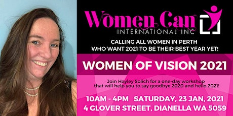 Women of Vision 2021 - Saturday tickets
