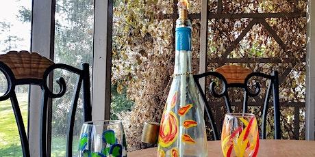 Wine Bottle Oil Lantern Class tickets