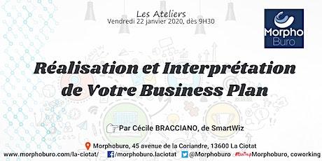 Atelier - Réalisation et Interprétation de Votre Business Plan billets