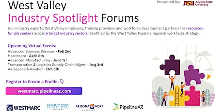 WEBINAR: West Valley Industry Spotlight: Advanced Business Services tickets