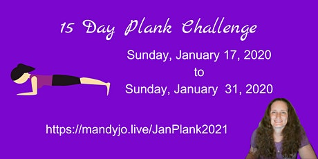 15 Day Plank Challenge tickets