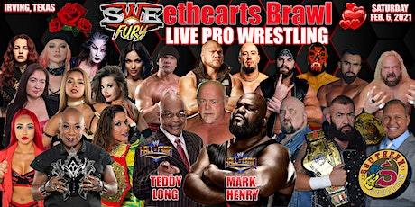 "SWE Fury Presents ""SWEETHEARTS BRAWL""  TV Taping tickets"