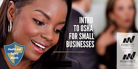 Intro to OSHA for Small Businesses tickets