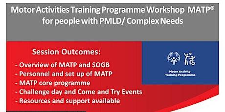 Motor Activities Training Programme Workshop MATP® tickets
