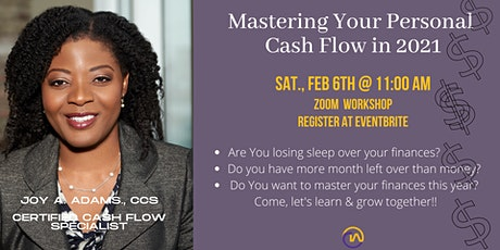 Mastering Your Cash Flow In 2021 tickets